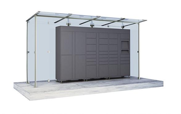 Locker Outside