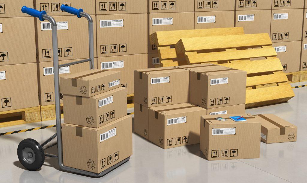 Parcel deliveries lockers