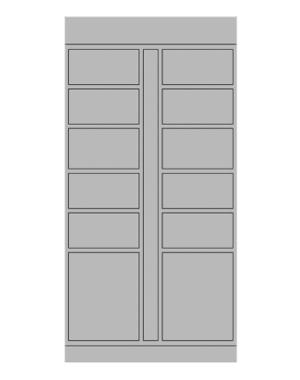 12-Door Shop Drawing