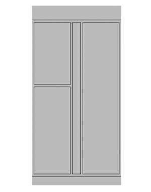 Smart locker 3 door expansion
